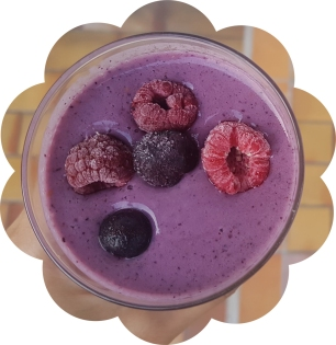 blueberry tofu smoothie_1