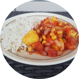 fruity bean chili_1