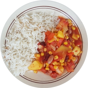 fruity bean chili_2