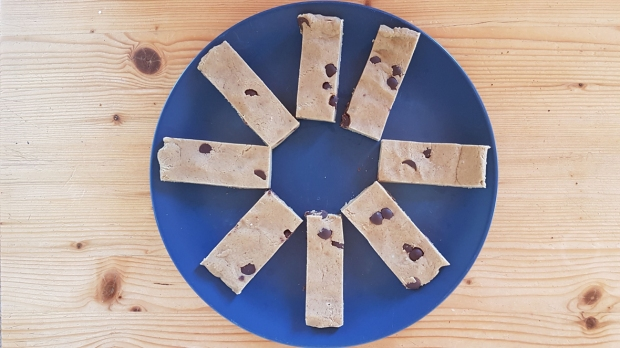 homemade protein bars_cookie dough